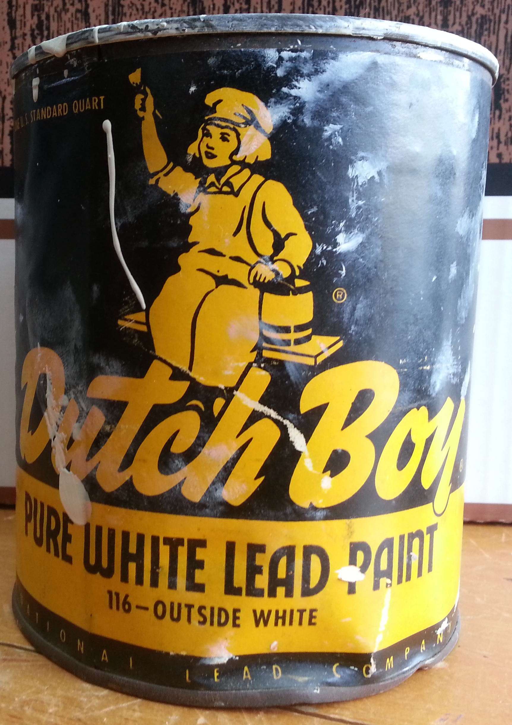 Lead paint for When was lead paint banned